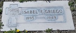 Isabel F Griego