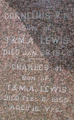 Cornelius V N Lewis
