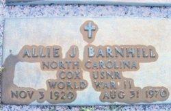 Allie Julius Barnhill