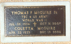 Coletta Marie COLLY <i>Storey</i> McGuire