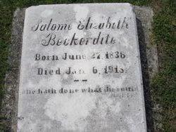 Salome Elizabeth Beckerdite
