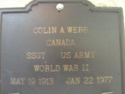 Colin A Webb