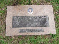 Garron Wynn Moss