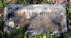 Ollie Lee Moore