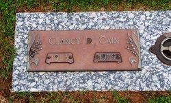 Clancy D Cain
