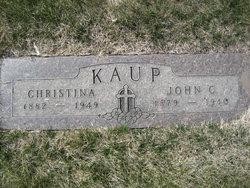 Christine <i>Goebel</i> Kaup