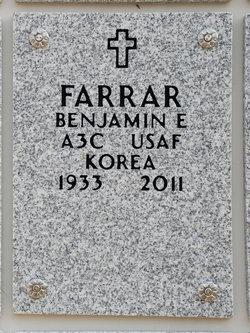 Benjamin E Farrar