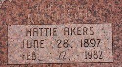 Hattie <i>Maxey</i> Akers