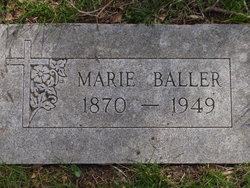 Marie Mary <i>Heineman</i> Baller