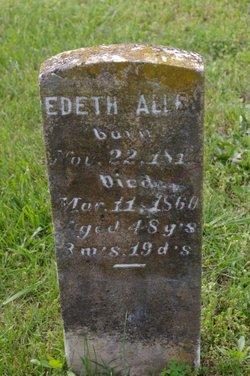 Edeth <i>Henson</i> Allen