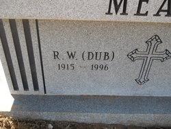 Richard Wesley Dub Meador, Sr