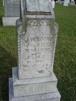 Julia C <i>Hearne</i> Boone