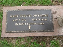 Mary Evelyn <i>Armstrong</i> Anthony