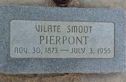 Vilate <i>Smoot</i> Pierpont
