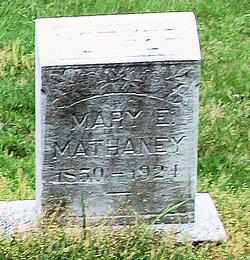 Mary Elizabeth <i>Taylor</i> Mathaney