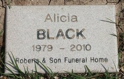 Alicia <i>Hicks</i> Black