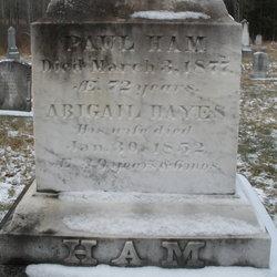 Abigail <i>Hayes</i> Ham