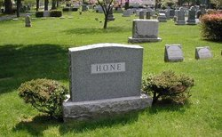 Cora V <i>Rodgers</i> Hone