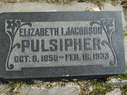 Elizabeth Isabelle Lizzie <i>Jacobson</i> Pulsipher