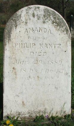 Amanda A <i>Walter</i> Kantz
