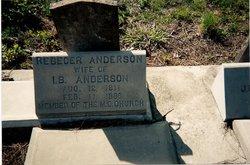 Rebecca <i>Sharber</i> Anderson