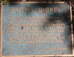 Ruth L. Bickel