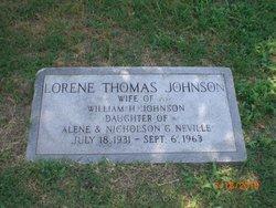 Lorene Thomas Johnson
