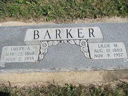 Lillie Myrtle <i>Willis</i> Barker