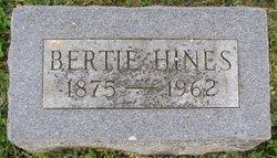 Bertha Bertie <i>Hines</i> Dean