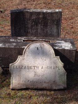 Elizabeth Ann <i>Fripp</i> Chaplin