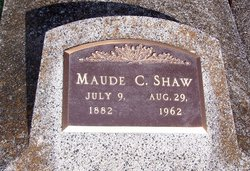 Maude <i>Crandell</i> Shaw