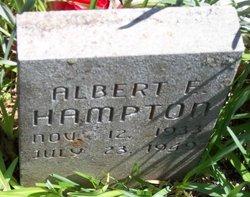 Albert E Hampton