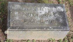 Annie <i>Bagwell</i> Edwards