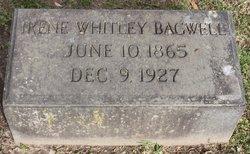 Irene <i>Whitley</i> Bagwell