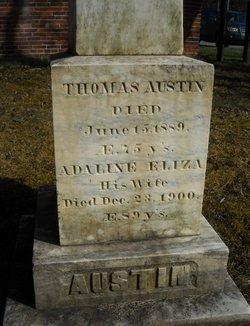 Adaline Eliza <i>Wiley</i> Austin