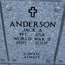 Jack A Anderson