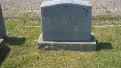 Sarah h <i>James</i> Avera