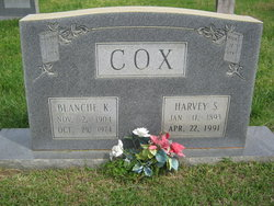 Blanche <i>King</i> Cox
