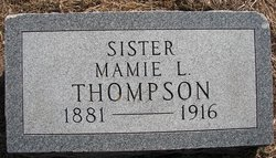 Mamie L. <i>Thompson</i> Lasater