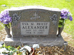 Eva M. <i>Priest</i> Alexander