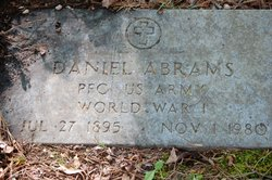 PFC Daniel Abrams