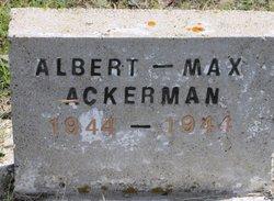 Albert Max Ackerman