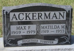 Matilda M Ackerman