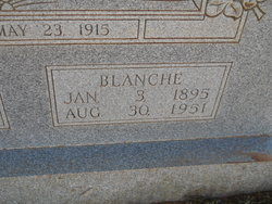 Lizzie Blanche <i>Laramore</i> Booth