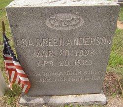 Asa Green Anderson