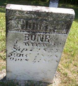 Rev Andrew McCreary Bone