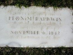Leon Milton Baldwin
