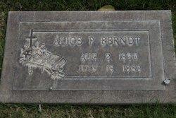 Alice Pauline <i>Ladd</i> Berndt