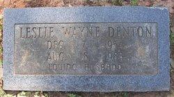 Leslie Wayne Denton