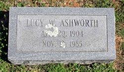Lucy Illinois <i>Wells</i> Ashworth